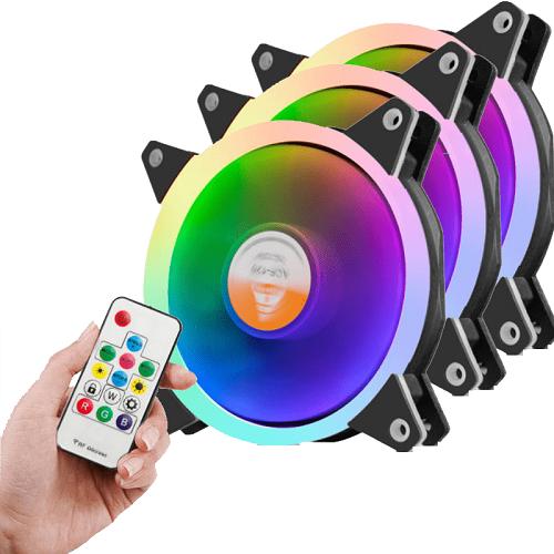 Bộ 3 quạt Golden Field Full Color RGB (có điều khiển)