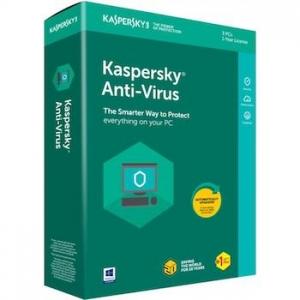 Kaspersky Antivirus 3 máy tính